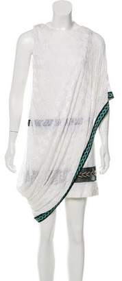 Missoni Layered Semi-Sheer Dress