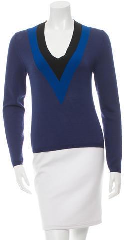 AltuzarraAltuzarra Colorblock V-Neck Sweater