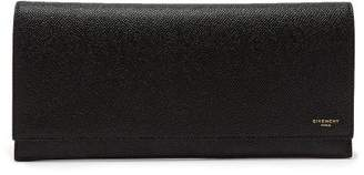 Givenchy Eros Grained Leather Travel Wallet - Mens - Black