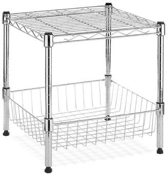 Whitmor Whitmor, Inc Supreme Stack Shelf with Basket