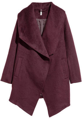 H&M Double-breasted Coat - Red