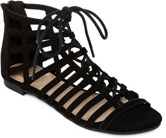 Bamboo Candice Lace-Up Gladiator Sandals $50 thestylecure.com