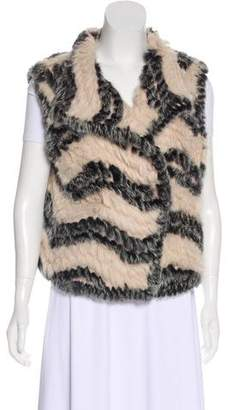Marc by Marc Jacobs Wool-Lined Fur Vest