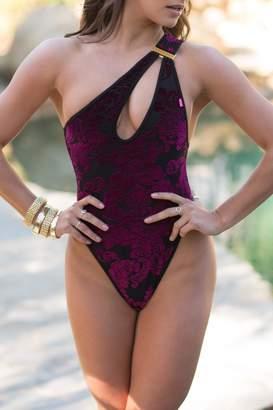 Santorini Chynna Dolls Asymmetric One-Piece