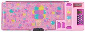 Girls Smiggle Fave Pop Out Pencil Case - Pink