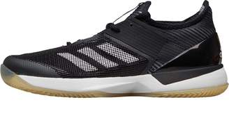adidas Womens Adizero Ubersonic 3.0 Clay Tennis Shoes Core Black/Footwear White/Core Black