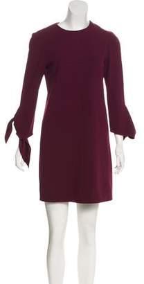 Tibi Long Sleeves Mini Dress