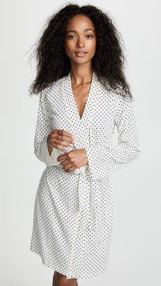 Bop Basics Polka Dot Printed Robe