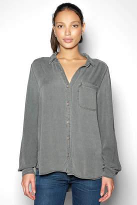 Sam&lavi Sam & Lavi Brushed Shirting with Front Pocket Top