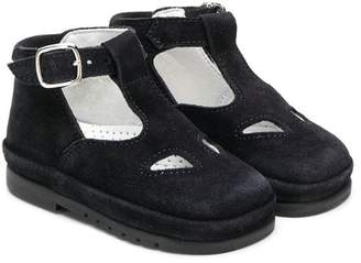 Gallucci Kids T-bar strap booties