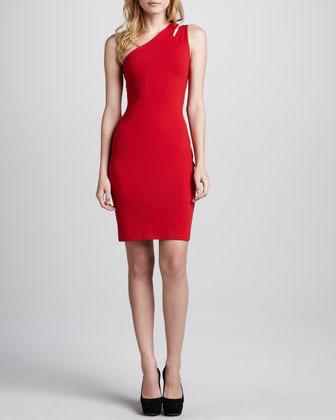 Susana Monaco Pepper One-Shoulder Dress