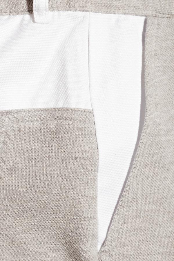 Alexander Wang Paneled piqué and jersey pants