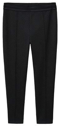Violeta BY MANGO Micro dots leggings
