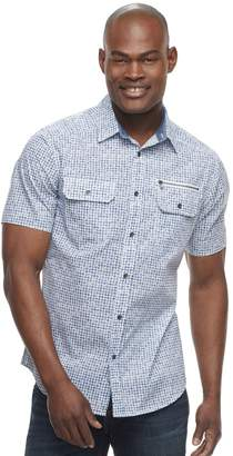 Rock & Republic Men's Printed Woven Button-Down Shirt