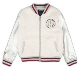 True Religion Toddler's, Little Girl's & Girl's Varsity Jacket $119 thestylecure.com