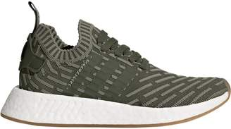 adidas Women's NMD_R2 PK W Running Shoe, st Major/Shock Pink, 7 M US