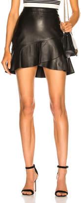 Frame Zip Twirl Mini Skirt