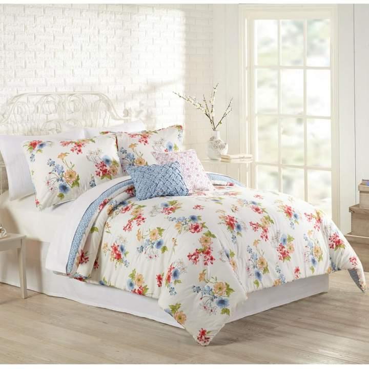 Peking Handicraft, Inc. MaryJane's Home Primavera 5pc Comforter Set - King