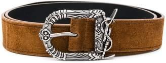 Saint Laurent buckle belt