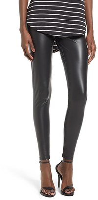 Women's Bp. Faux Leather Leggings $29 thestylecure.com