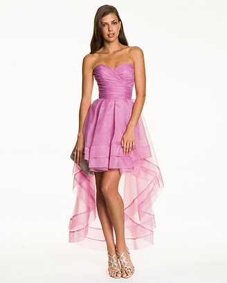 Le Château Organza Sweetheart High-Low Gown