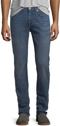 7 For All Mankind Men's Straight-Leg Airweft Denim Jeans