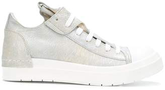 Cinzia Araia faded leather effect sneakers