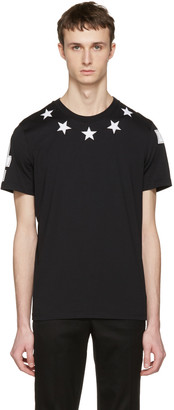 Givenchy Black '74' Stars T-Shirt $550 thestylecure.com
