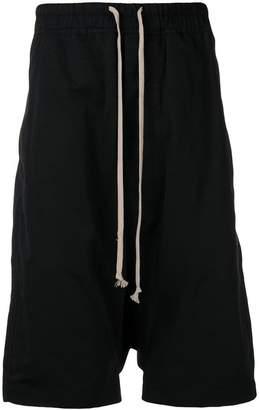 Rick Owens drawstring slouched shorts
