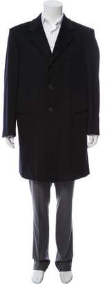 Giorgio Armani Wool Button-Up Jacket