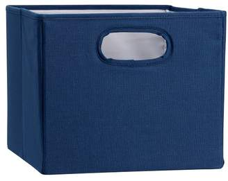 Pottery Barn Teen Set of 2 Closet Sweater Bins, Solid Navy