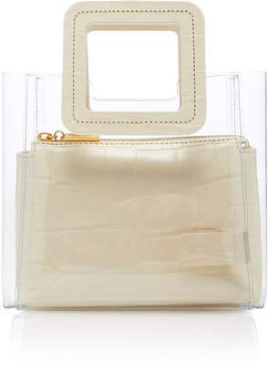 STAUD Shirley Mini Croc-Effect Leather Bag