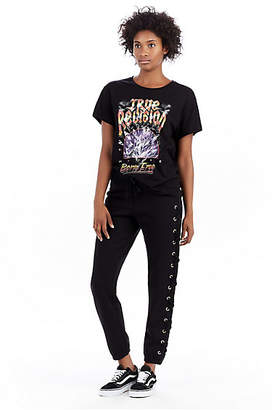 True Religion LACEUP SKINNY WOMENS PANT