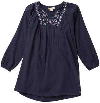 Roxy Holds Me Tight Embroidered Dress (Big Girls)