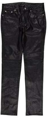 BLK DNM Skinny Leather Pants