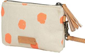 White Stuff Dana Dotty Canvas Pouch