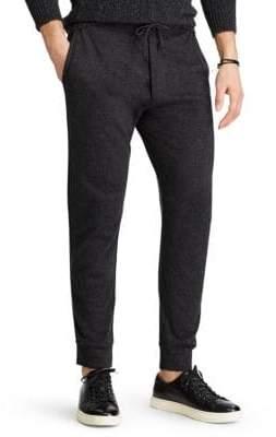 Ralph Lauren Double-Knit Jogger Pants
