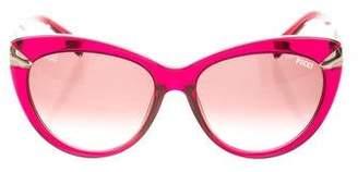 Emilio Pucci Gradient Cat-Eye Sunglasses