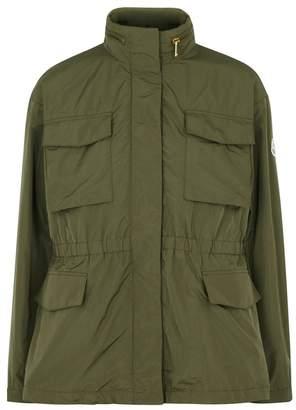 Moncler Aventurine Olive Taffeta Jacket