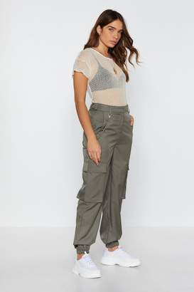 Nasty Gal Pocket Cargo Trousers