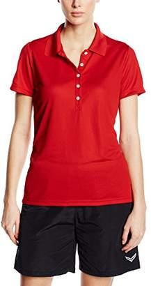 Trigema Women's Damen Polo-Shirt COOLMAX Polo Shirt,M (Manufacturer Size: 40)