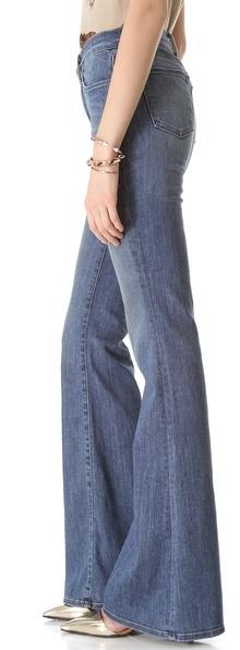 J Brand Valentina High Rise Flare Jeans