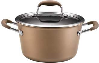 Anolon 4.5QT. Advanced Hard-Anodized Non-Stick Covered Tapered Stockpot