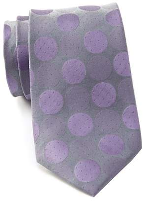 Kenneth Cole Reaction Carnival Dot Silk Tie