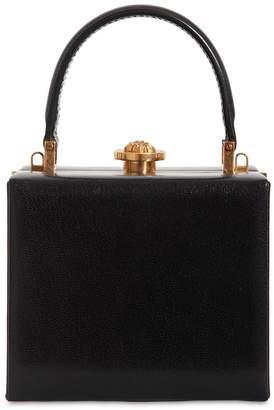 Versace Mini Leather Vanity Case Shoulder Bag