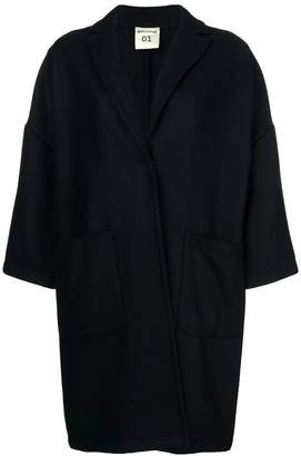 Semi-Couture Semicouture oversize buttoned coat