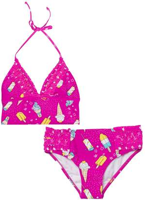 Juicy Couture Ice Cream Love Two Piece Swimsuit for Girls
