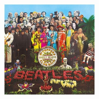 Vinyl Records Beatles - Sgt. Pepper's Lonely Hearts Club Band (2017 Stereo) Vinyl Record