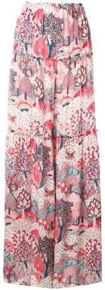 Vilshenko Joanna printed trousers