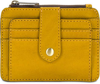 Patricia Nash Leather Brights Cassis Card Case